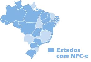 Mapa NFC-e